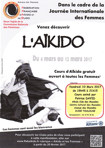 AIKIDO JOURNEE FEMMES 2017 Affiche-CNFsmall