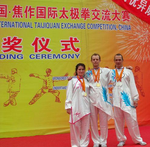 Le Taijiquan style Chen à l'honneur Groupe